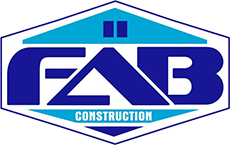 F A B Construction, Inc. Logo